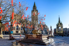 Manchester TownHall England Stock Images