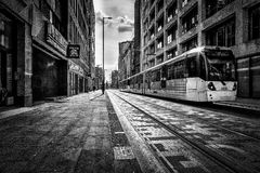 Manchester Tram Royalty Free Stock Image