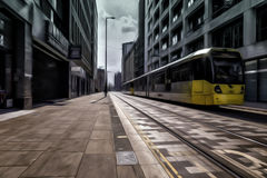Manchester Trams Royalty Free Stock Photos
