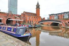 Manchester UK Arkivbild