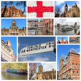 Manchester UK royaltyfria bilder