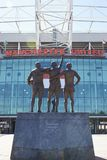 Manchester, UK - 4 May 2017: Exterior Of Manchester United Football Stadium Royalty Free Stock Images