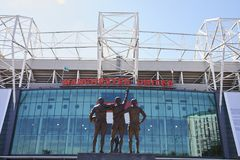 Manchester, UK - 4 May 2017: Exterior Of Manchester United Football Stadium Royalty Free Stock Photography