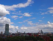 Manchester UK Panorama Royalty Free Stock Images