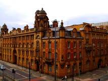 Manchester un giorno dell'estate nuvoloso immagine stock libera da diritti
