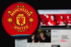 Manchester United Imágenes de archivo libres de regalías