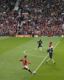 Manchester United - Arsenal Lizenzfreies Stockfoto