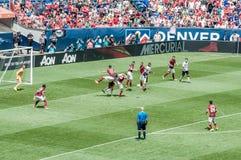 Manchester United contre COMME Roma Photo stock