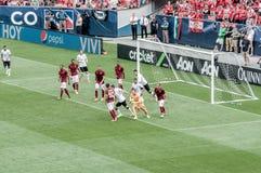 Manchester United contro COME Roma Immagini Stock