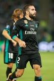 MANCHESTER UNITED DO REAL MADRID V: COPO SUPER DO UEFA foto de stock
