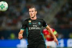 MANCHESTER UNITED DO REAL MADRID V: COPO SUPER DO UEFA fotos de stock