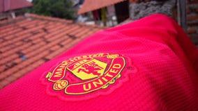 Manchester United England& x27 ; fierté de s Image stock