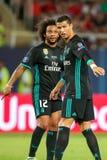 MANCHESTER UNITED FÖR REAL MADRID V: TOPPEN KOPP FÖR UEFA royaltyfri fotografi