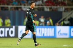 MANCHESTER UNITED FÖR REAL MADRID V: TOPPEN KOPP FÖR UEFA royaltyfria bilder