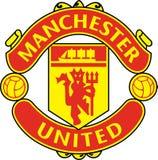 Manchester United icon logo royalty free illustration