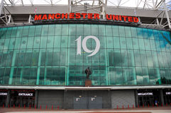 Manchester United mega store front stock photos