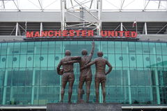 The Manchester United Old Trafford Stadium Royalty Free Stock Image
