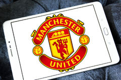 Manchester united soccer club logo Royalty Free Stock Image