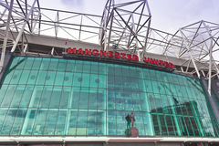 Manchester United stadium. Stock Photo