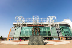 Manchester United stadium. Royalty Free Stock Image