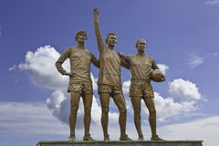 Manchester United United Trinity Three Royalty Free Stock Image