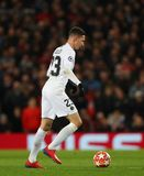 Manchester United v Paris Saint-Germain - UEFA Champions League Round of 16: First Leg. MANCHESTER, ENGLAND - FEBRUARY 12 2019:Julian Draxler of PSG during the stock photo