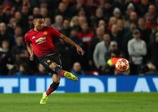 Manchester United v Paris Saint Germain - UEFA Champions Leagueronde van 16: Eerste Been royalty-vrije stock afbeelding