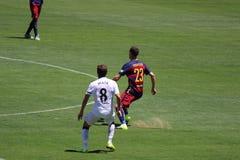 Manchester United versus Barcelona bij de Internationale Kampioenenkop Royalty-vrije Stock Fotografie