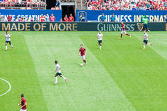 Manchester United vs AS Roma Royalty Free Stock Photography