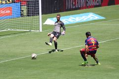 Manchester United vs. Barcelona at the International Champions Cup Stock Photos