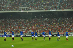 Manchester United vs Malaysia XI 2009 Stock Images