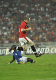Manchester United vs Malaysia XI 2009 Stock Photography