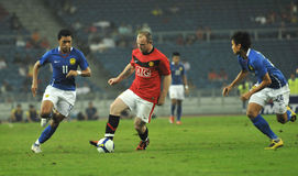 Manchester United vs Malaysia XI 2009 Stock Photo