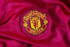 Manchester Unitedembleem Royalty-vrije Stock Foto's