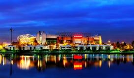 Manchester Unitedfotbollklubba Arkivbilder