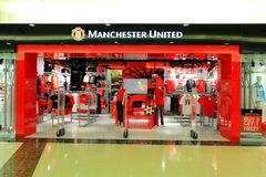 Manchester Unitedopslag Royalty-vrije Stock Afbeeldingen