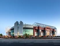 Manchester Unitedstadion Arkivbild