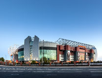Manchester Unitedstadion Stock Fotografie