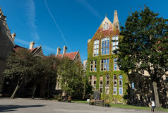 Manchester University Office main campus buildings Royalty Free Stock Photography