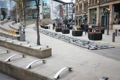 Manchester utbytesfyrkant Royaltyfri Bild