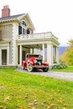 Manchester, Vermont - 3 de novembro de 2012: Hildene, Lincoln Family Home fotografia de stock royalty free