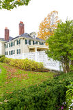 Manchester, Vermont - 3. November 2012: Hildene, Lincoln Family Home Stockfoto