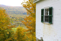Manchester, Vermont - November 3, 2012: Hildene, the Lincoln Family Home Royalty Free Stock Image