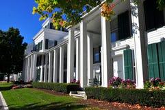 Manchester Village, VT: Equinox Hotel & Resort Stock Image
