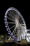 Manchester wheel 3. Manchester big wheel in city centre Royalty Free Stock Photo