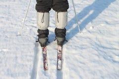 Manchettes sur des pantalons Photographie stock libre de droits