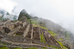 Manchu Picchu. This image shows the Manchu Picchu complex in Peru Royalty Free Stock Image