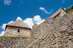 Manchu Picchu. This image shows the Manchu Picchu complex in Peru Royalty Free Stock Photography