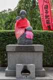 Manchuria statue at Senso-ji Buddhist Temple in Tokyo. Royalty Free Stock Photo