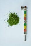 Manciata di marijuana medica della cannabis Fotografia Stock